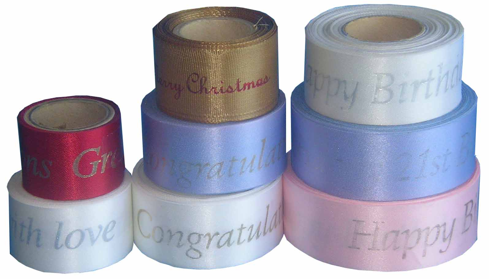 Cake and Floral decorating printed ribbon The Fiddly ...